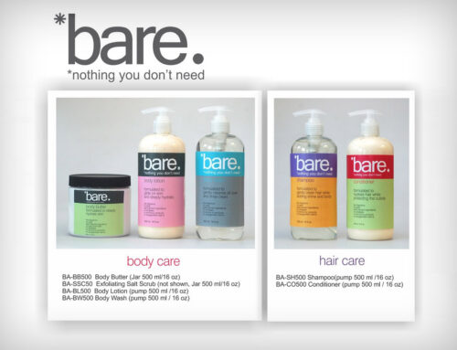 Product Label Design – Body Care Collection