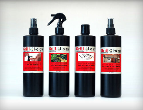 Product Label Design – Grill Cleaner