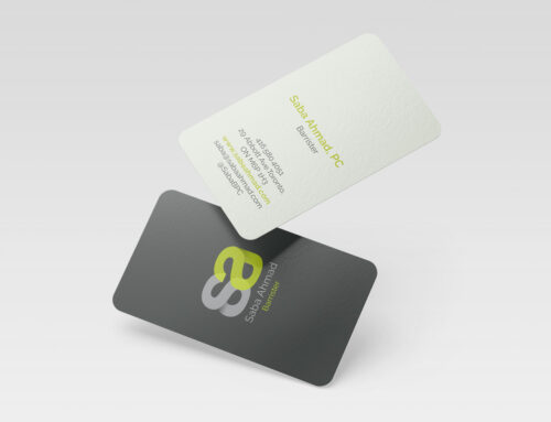 Business Cards – Law Firm